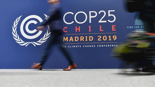 ep december 02 2019 - madrid spain atmosphere at the venue of the un climate conference cop25 where