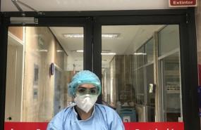 ep una trabajadora sanitaria en un hospital de mexico durante la pandemia del coronavirus