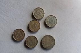 ep archivo - pesetas monedas antiguas monedas de cien monedas de quinientas