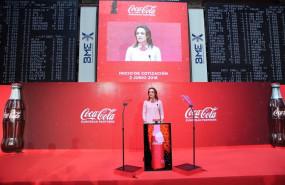 ep archivo - sol daurella la presidenta de coca-cola european partners en la salida a bolsa de la