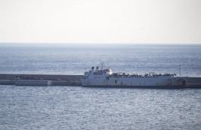 ep el buque de ganado kharim allah atraca en la darsena de escombreras en el puerto de cartagena