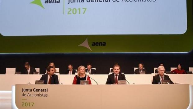 Economía.- Aena gastó 747.791 en la organización de las juntas de accionistas de los tres últimos años