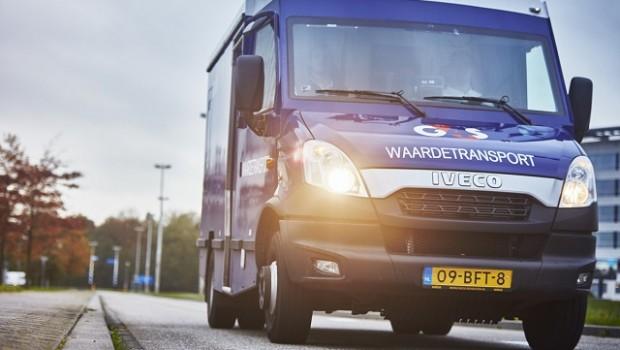 g4s cash solutions van
