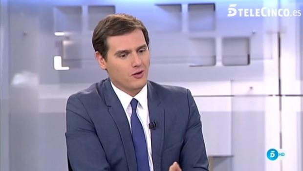 Albert Rivera, Telecinco