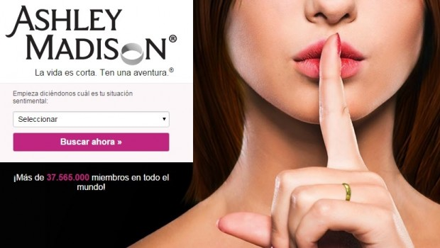 ashley madison, contactos, citas, web