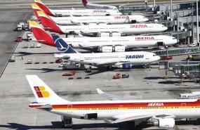 ep aeropuertobarajas avion aviones hubiberia aviones apostados