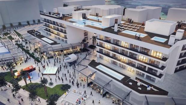 Meliá abrirá un nuevo hotel y un área comercial en Magaluf