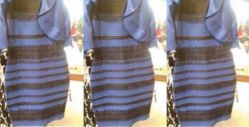 El Vestido De La Discordia Azul Y Negro O Blanco Y Dorado