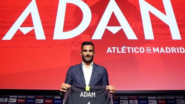 Camiseta Atlético de Madrid Adán