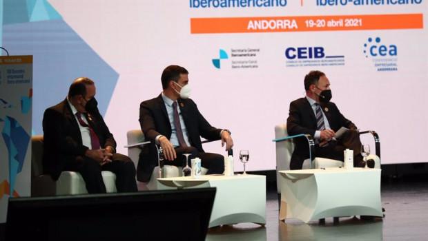 ep el presidentte del gobierno pedro sanchez participa en el encuentro empresarial iberoamericano