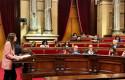 ep la lider de cs en catalunya lorena roldan interviene en la mocion de censura del presidente quim