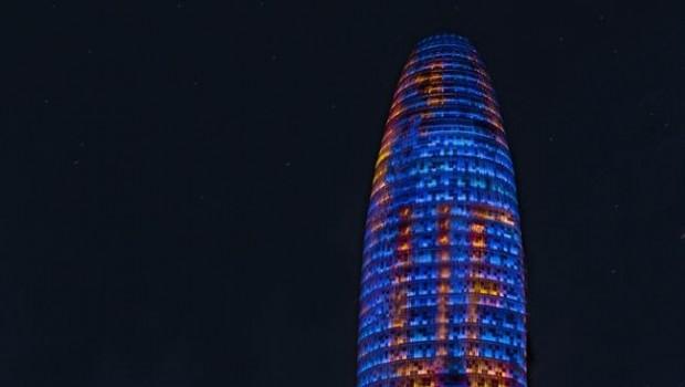 ep la torre agbar muestrailuminacion especialdiaeuropa