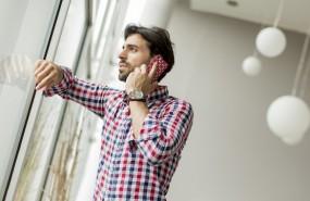 smartphone tecnologia movil hombre hablar