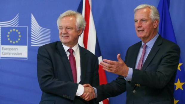 brexit talks davis barnier