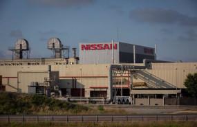 ep exterior de la fabrica de nissan en la zona franca de barcelona