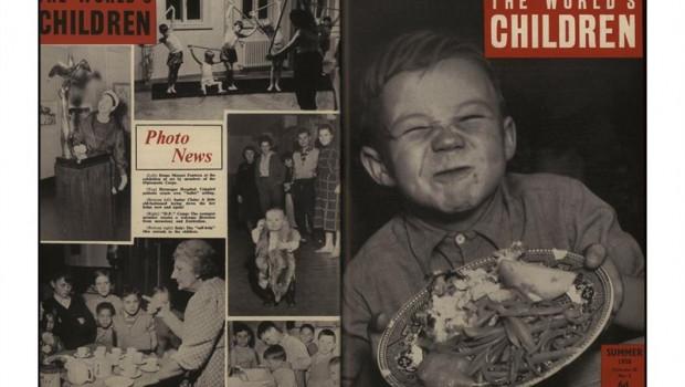 ep una de las fotografias de la exposicion de save the children la infancia marca cien anos