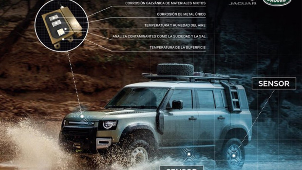 ep sensores de jaguar land rover