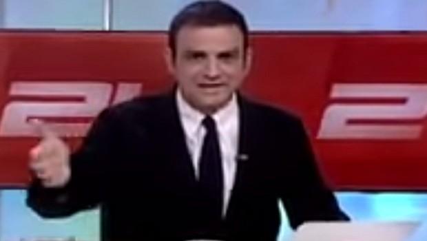 Presentador Chile terremoto