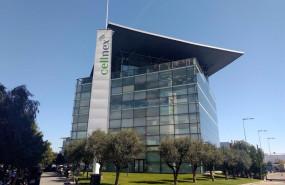 ep oficina de cellnex en la zona franca de barcelona