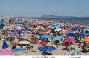 ep playa gandia verano turistas