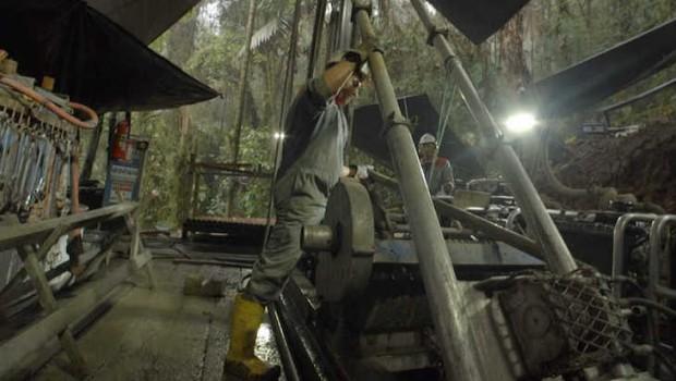 solgold drilling ecudaor