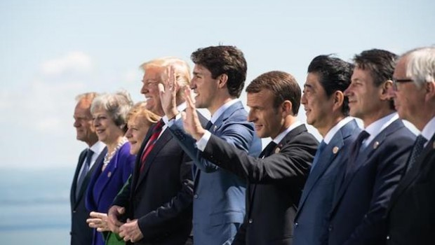g7 charlevoix leaders summit trade international relations trump merkel relaciones comercio cumbre