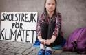 ep la joven activista sueca greta thunberg en huelgacambio climatico