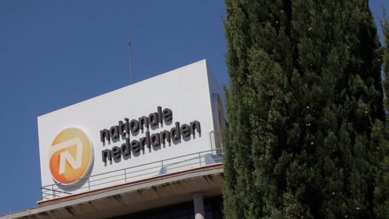 ep archivo   fachada de la sede de nationale nederlanden ubicada en madrid espana a 10 de septiembre