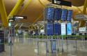 ep paneles informativos en la terminal t4 del aeropuerto adolfo suarez madrid-barajas