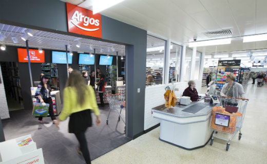 Sainsbury's first half profit dented by seasonal Argos loss""
