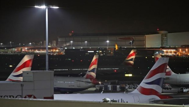 ep heathrow airport drone disruption in london