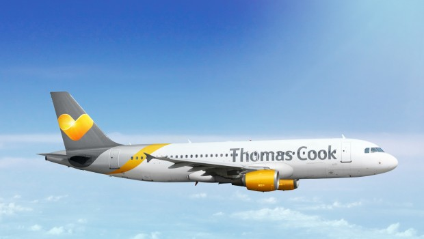 Thomas Cook Airbus A320 aircraft, aviation, transport