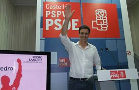 Pedro Sánchez PSOE 286x185