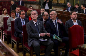 Independentistas catalanes: primero Sants y ahora cortan la Gran Vía