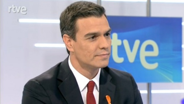 Pedro Sánchez, entrevista TVE