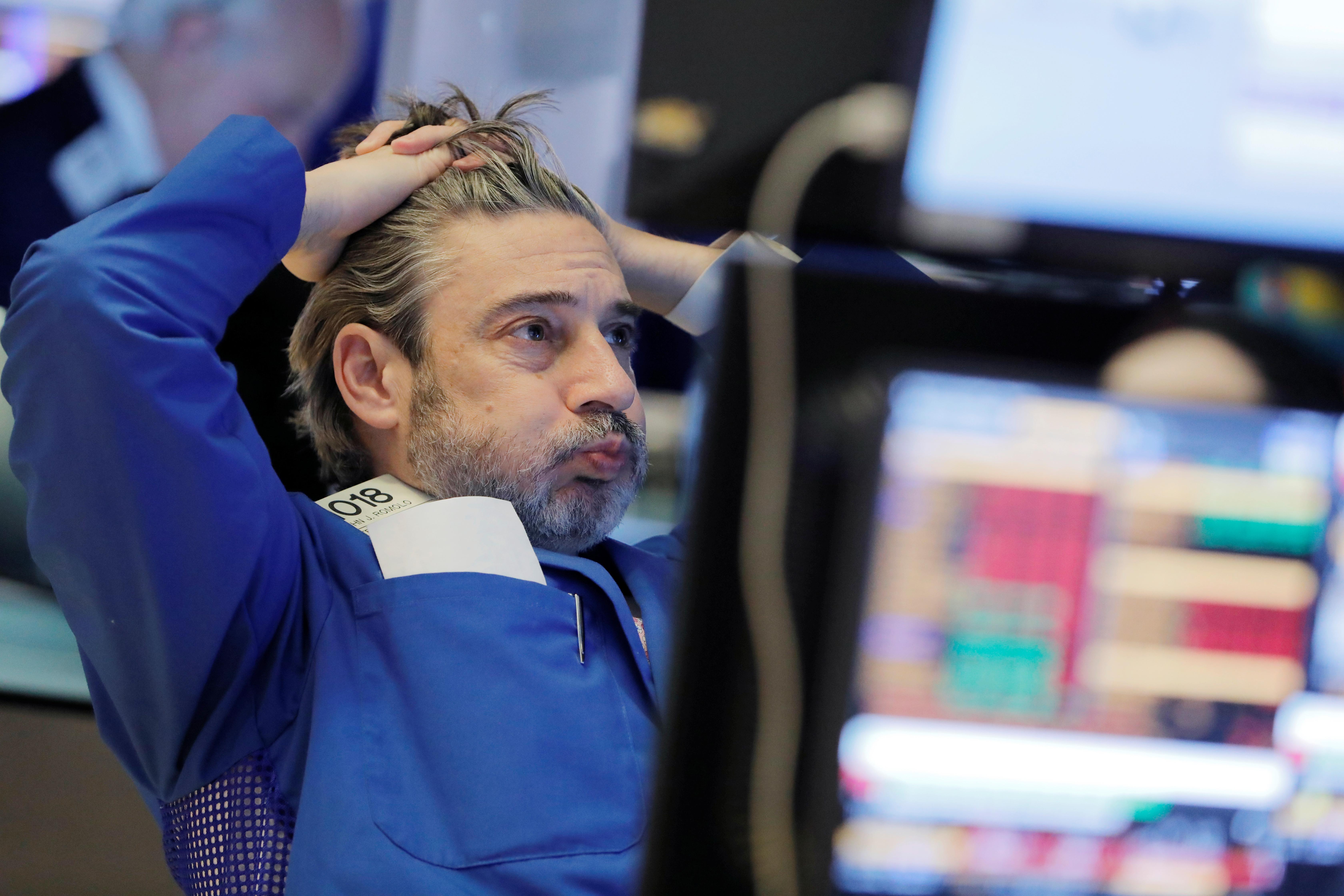 Caídas del 1,5% en Wall Street tras un dato de paro mucho peor de lo esperado