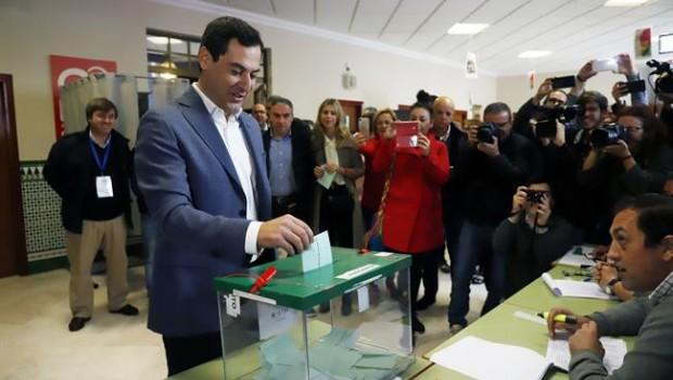 ep juanma moreno pp-a votalas eleccionesla junta 2018