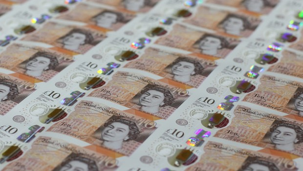 pound sterling gbp money inflation spending