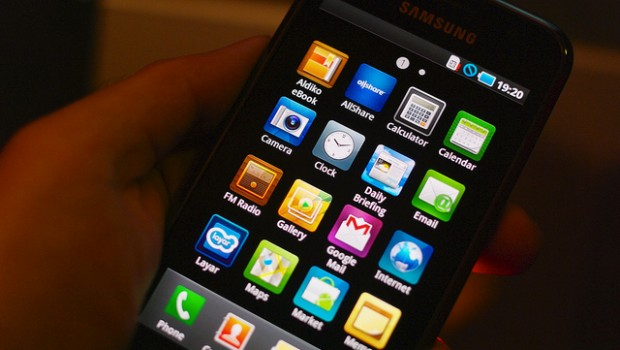 Samsung Galaxy S mobile phone