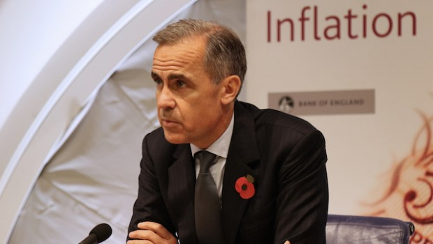 bank of england mpc mark carney inflation report