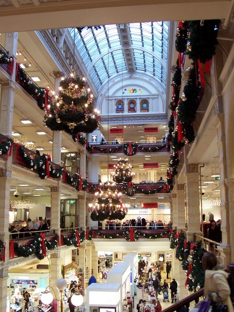 frasers department store   geograph org uk   298214