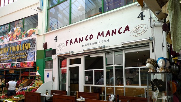 Franco Manca restuarant Fulham Shore