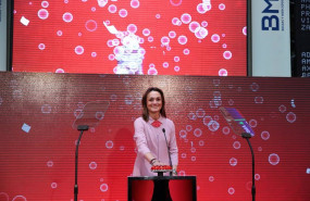 ep sol daurella la presidenta de coca-cola european partners en la salida a bolsa de la compania