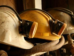 Mining helmets 150