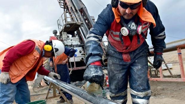 mining drill miners antofagasta