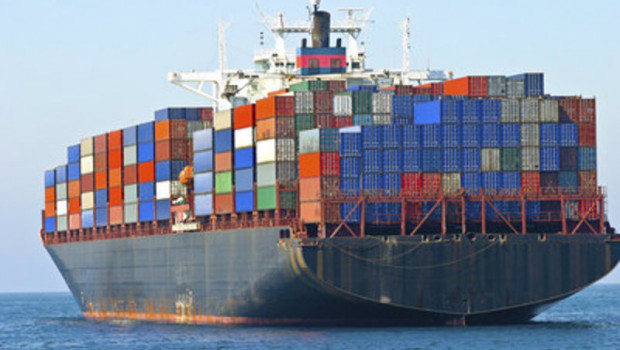 ep archivo   cargo container ship at sea