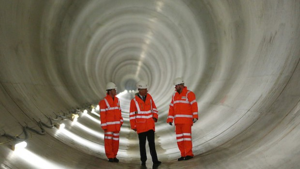 thames tideway tunnel water utilities infrastructure morgan sindall balfour beatty