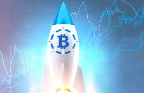 bitcoin cohete portada