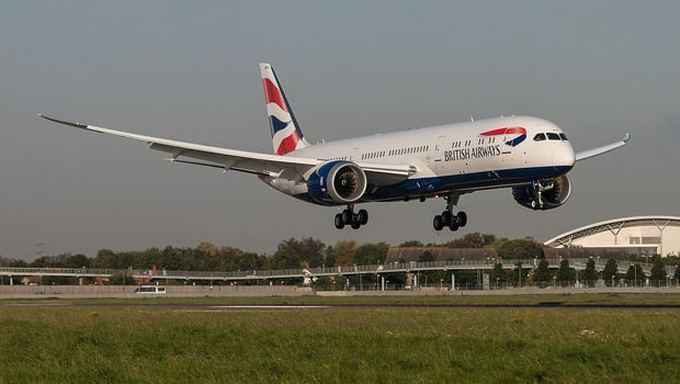 dl iag international consolidated airlines group british airways boeing 787 dreamliner ftse 100 min