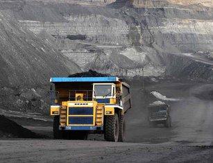 Kazakhmys, mining dump truck 285
